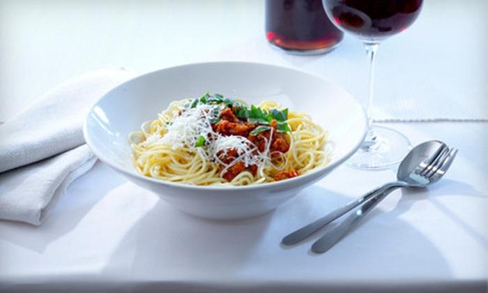 Bartolinos Italian Ristorante - Astoria: $15 for $30 Worth of Italian Dinner Fare and Two Glasses of House Wine at Bartolinos Italian Ristorante in Astoria ($48 Value)