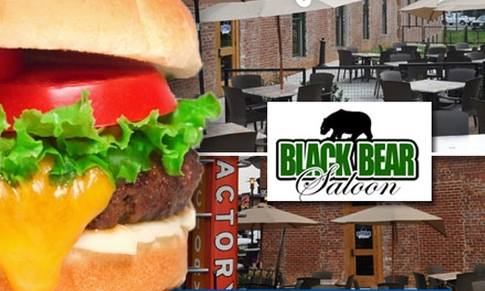 Black Bear Saloon - Fourth Ward: $10 for $20 Worth of Bar Fare and Drinks at Black Bear Saloon