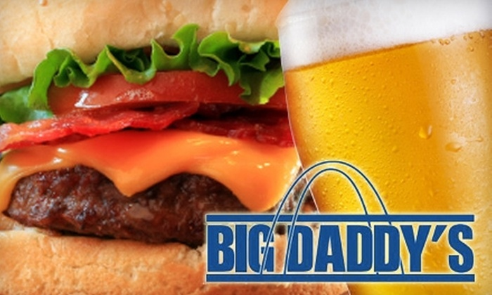 Big Daddy's - Multiple Locations: $13 for $30 Worth of Casual Fare and Drinks, or $99 for an All-Inclusive Three Hour Party for Up to 10 People (Up to $350 value) at Big Daddy's. Choose From Three Locations.