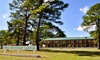 Lake Bastrop Lodge - CLOSED - Bastrop, TX: 1- or 2-Night Stay for Two in a Bunkhouse or Deluxe Room with a $20 Dining Credit at Lake Bastrop Lodge in Bastrop, TX
