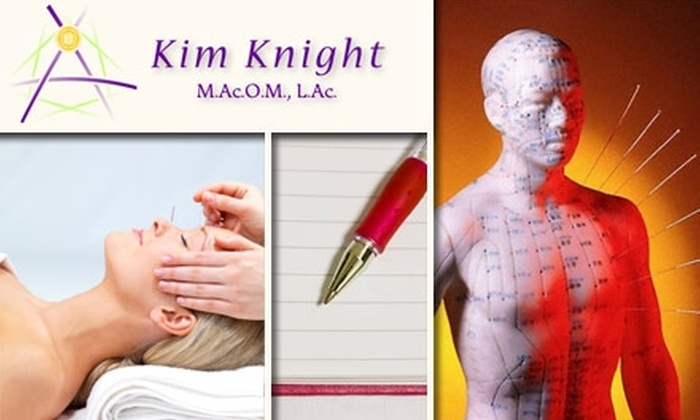 Kim Knight - King: $40 for a Wellness Survey Including Acupuncture and Health Consultation with Kim Knight M.Ac.O.M., L.Ac. ($90 Value)
