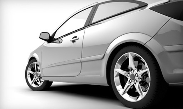 VMS Auto Body Center - Covina-Valley: Up to $1,000 Toward Auto-Body Repairs at VMS Auto Body Center in Covina. Three Options Available