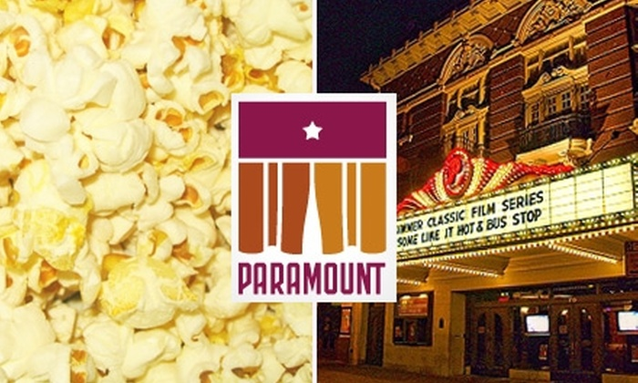 Paramount Theatre - Downtown: $8 for One Movie Ticket, Popcorn, and Soda at the Summer Film Series at Paramount Theatre ($17 Value)