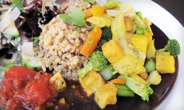 Radiance Cuisine - San Rafael: $8 for $16 Worth of Vegetarian Fare at Radiance Cuisine in San Rafael