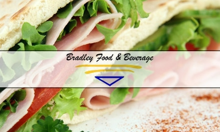 Bradley Food and Beverage - Bethesda: $10 for $20 Worth of Deli Fare at Bradley Food and Beverage