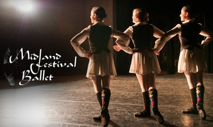 Midland Festival Ballet - Midkiff Plaza: Dance Classes at Midland Festival Ballet. Choose Between Two Options