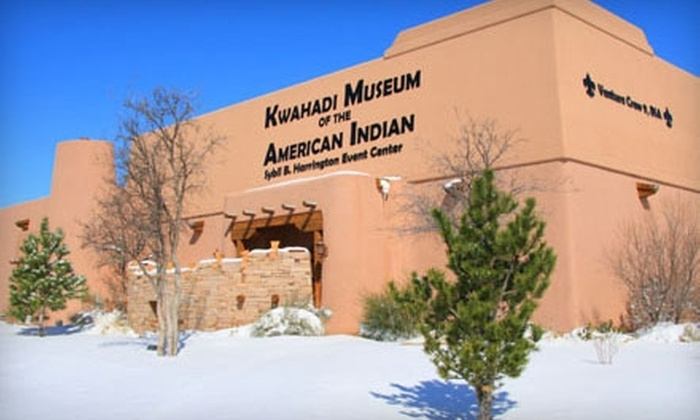 Kwahadi Museum of the American Indian - Amarillo: $5 for Two Adult Admissions to Kwahadi Museum of the American Indian ($10 Value)