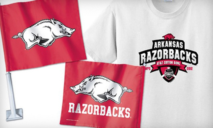 The Hog Zone - Conway: $15 for $30 Worth of Razorbacks Merchandise and Apparel at The Hog Zone in Conway