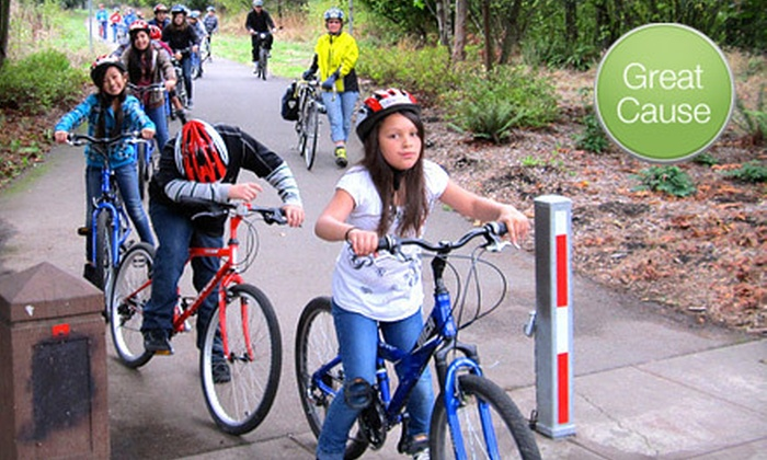 Bicycle Transportation Alliance - Old Town Chinatown: $10 or $20 Donation to Help the Bicycle Transportation Alliance Provide Bicycle Helmets for Youth Programs