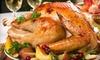 David Burke at Bloomingdale's - Upper East Side: $145 for a Take-Home, Gourmet Thanksgiving Dinner for 6–8 People from David Burke at Bloomingdale's ($299 Value)