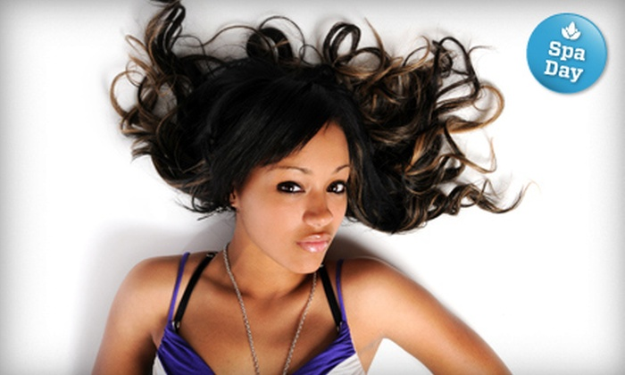 Salon Charisma - Salon Charisma : $25 for Deep Conditioning, Haircut, and Style at Salon Charisma (Up to $130 Value)