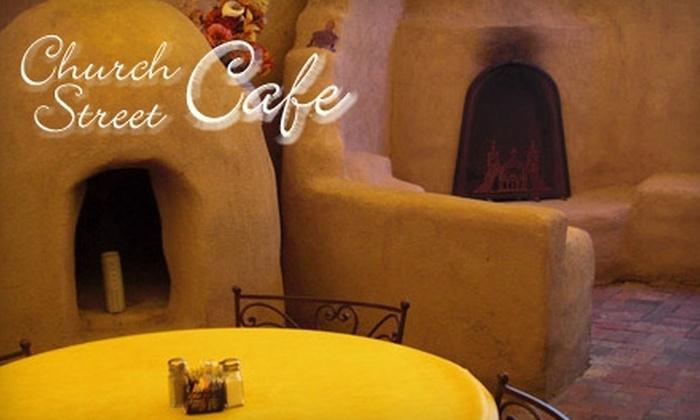 Church Street Café - West Old Town: $7 for $15 Worth of Mexican Cuisine at Church Street Café
