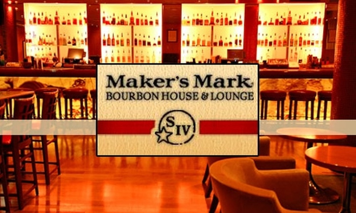 Maker's Mark Bourbon House & Lounge - Louisville: $25 for $50 Worth of Southern Cuisine and Drinks at Maker's Mark Bourbon House & Lounge
