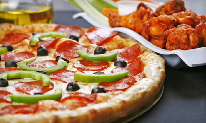 Happy Hour Inn - Birmingham: Party Package for Four or More or $10 for $20 Worth of Pizza and Wings at Happy Hour Inn in Oak Harbor