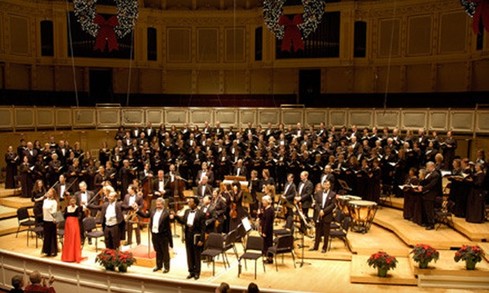 """Apollo Chorus of Chicago Presents Handel's """"Messiah"""" - Multiple Locations: One Ticket to Handel's """"Messiah"""" by the Apollo Chorus of Chicago (Up to 51% Off). Two Options Available."""