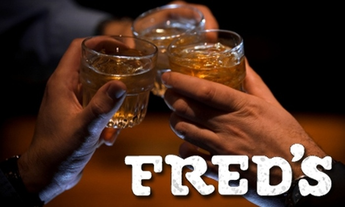 Fred's Bar - Highlands/Perkins: $10 for $20 Worth of Drinks at Fred's Bar (or $30 if used Monday Through Wednesday)