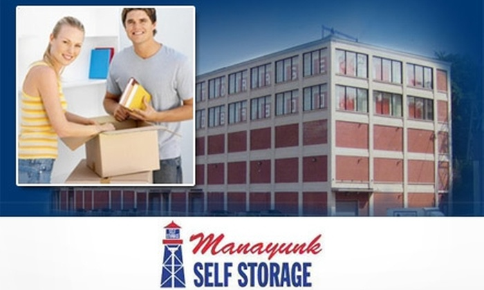 Three Months of Storage at Manayunk Self Storage. Five Unit Sizes Available.