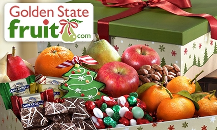 Golden State Fruit: $25 for $50 Worth of Fresh Fruit and Gourmet Gift Baskets from Golden State Fruit