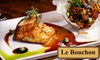 W Restaurant 1 - Sheepshead Bay: $20 for $40 Worth of Upscale French Fare at Le Bouchon in Brooklyn