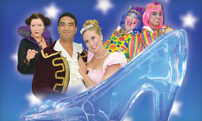 """GTA Pantomime's """"Cinderella"""" - Erin Mills: $29 for Two Tickets to GTA Pantomime's """"Cinderella"""" at The Meeting House in Oakville ($58 Value). 12 Shows Available."""