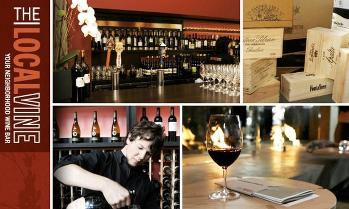 The Local Vine - Belltown: $145 for Five Wine-Tasting Classes at The Local Vine