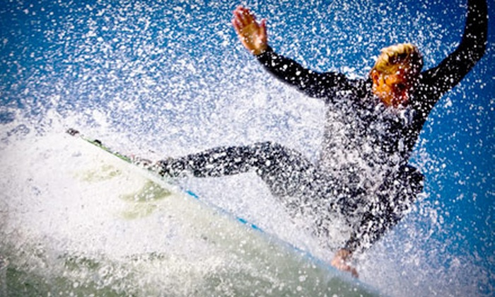 Ocean Experience Surf School - Ocean Beach: $50 for a Three-Hour Group Surfing Lesson from Ocean Experience Surf School ($105 Value)