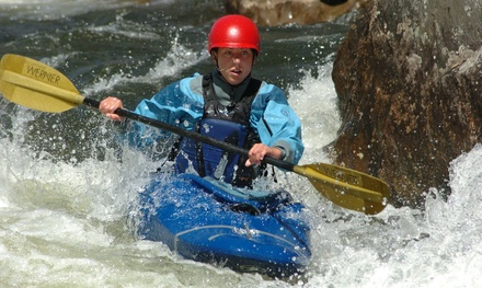 Overnight Kayaking Clinic with Lodging for One or Two from Zoar Outdoor (Up to 39% Off)