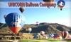 Unicorn Balloon Company - Tatum Ranch: $99 for a Sunrise Hot-Air Balloon Flight from Unicorn Balloon Company (Up to $185 Value)