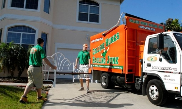 College Hunks Hauling Junk - Kiwanis Park: $70 for Two Hours of On-Site General Labor from College Hunks Hauling Junk ($198 Value)