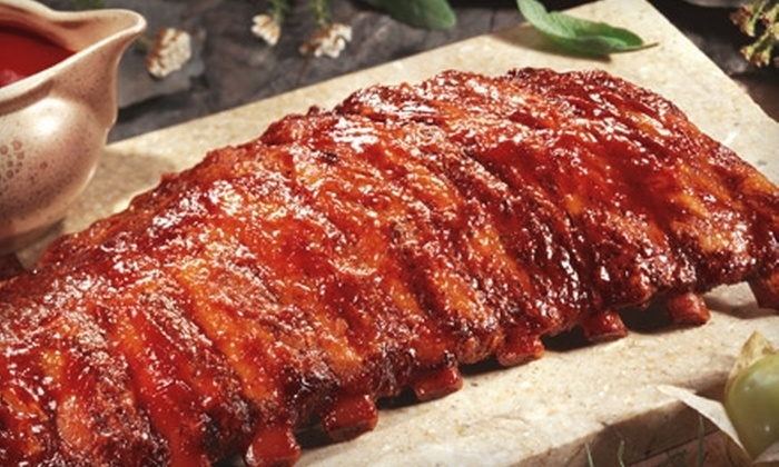 Montgomery Inn - Dublin: $20 for $40 Worth of Ribs and More for Dinner or $7 for $15 Worth of Ribs and More for Lunch at Montgomery Inn