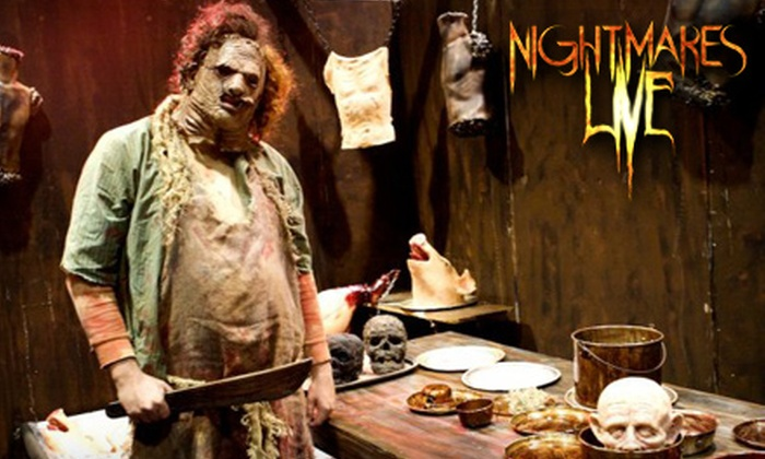 Nightmares Live Haunted Attraction - Kalihi - Palama: Haunted-House Outing for Two at Nightmares Live Haunted Attraction