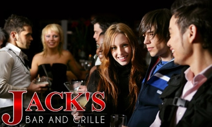 Jack's Bar and Grille - Washington: $15 for $30 Worth of Contemporary American Cuisine and Drinks at Jack's Bar and Grille