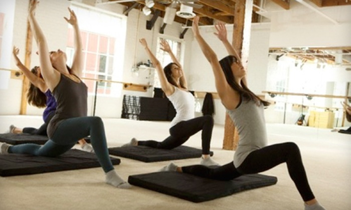 The Bar Method - Old Pasadena: $45 for Five One-Hour Fitness Classes at The Bar Method in Pasadena ($95 Value)