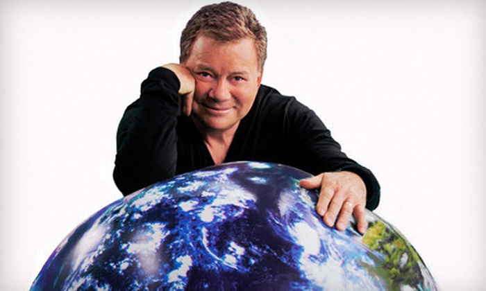 """""""Shatner's World: We Just Live in It"""" - Central Business District: William Shatner at Aronoff Center for the Arts on April 13 at 8 p.m. (Up to Half Off). Three Options Available."""