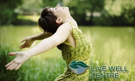 $110 Groupon to The Live Well Centre - The Live Well Centre in Kingston