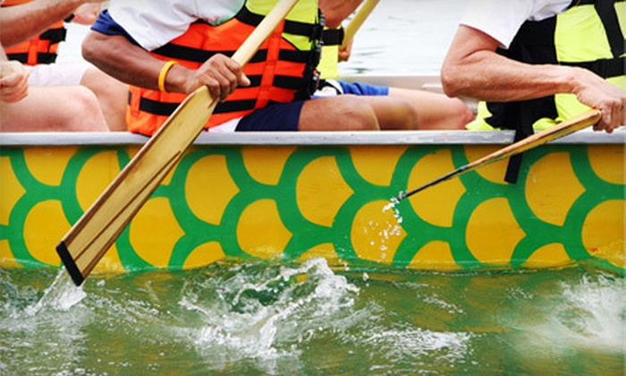 Limestone City Dragon Boat Club - Inner Harbour: $55 for a Four-Week Recreational Dragon-Boat-Rowing Program at Limestone City Dragon Boat Club ($111.87 Value)