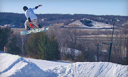 1-Day Junior Lift Ticket, Valid for Skiers Aged 6-12 - Mt. Crescent Ski Area in Crescent