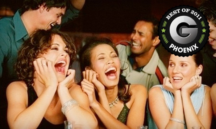 Stand-up, Scottsdale! Comedy Club - Downtown Scottsdale: Comedy Evening for Two or Four at Stand-up, Scottsdale! Comedy Club (Up to 62% Off)