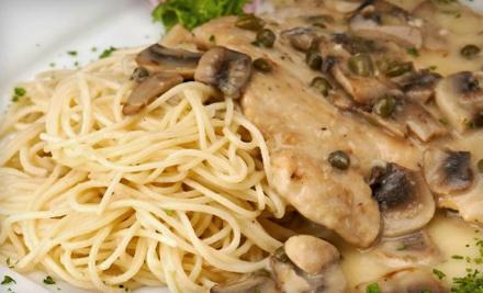 $20 Groupon for Dinner to Cerames Italian Villa - Cerame's Italian Villa in Rochester