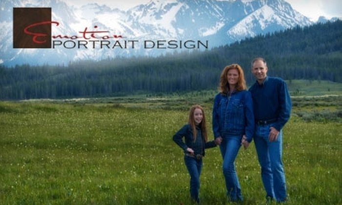 Emotion Portrait Design - Multiple Locations: $75 for an Outdoor Family Portrait Session and One Digital Image from Emotion Portrait Design