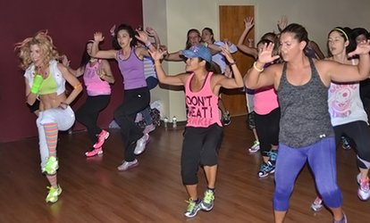 image for 5 or 10 <strong>Zumba</strong> or HitZjam cardio dance classes at Jan Martin with Susan Rubin Dance Studio (Up to 67% Off)