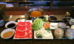 Swish Japanese Hot Pot: Japanese Lunch or Dinner Food for Two, Four, or More at Swish Japanese Hot Pot (Up to 40% Off)