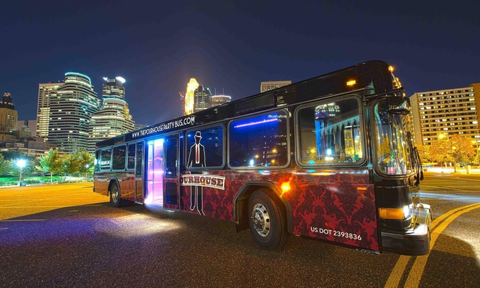 The Pourhouse Party Bus - LUMBER EXCHANGE BUILDING: Twin Cities Brewery Tour with Lunch for One from The Pourhouse Party Bus (46% Off). Six Dates Available.