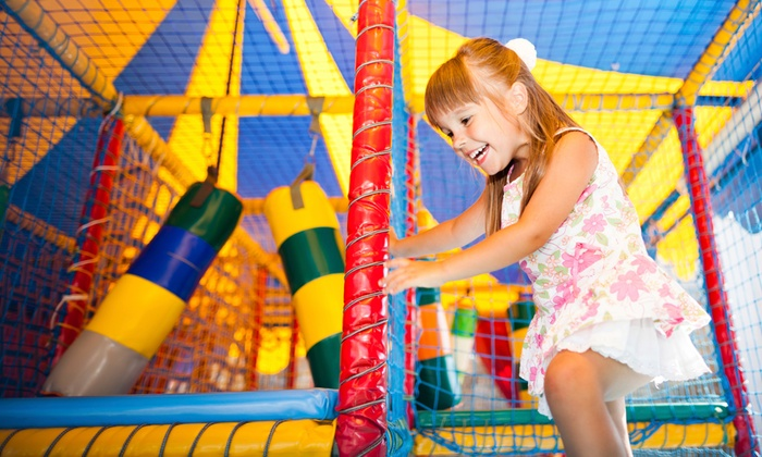 The Jump Palace - The Jump Palace: Up to 53% Off All Day Play with Juices & Chips at The Jump Palace