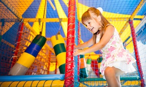 More Fun With Bounce: Drop-In Visits for One, Two, or Four, or Birthday Party at More Fun with Bounce (Up to 53% Off)