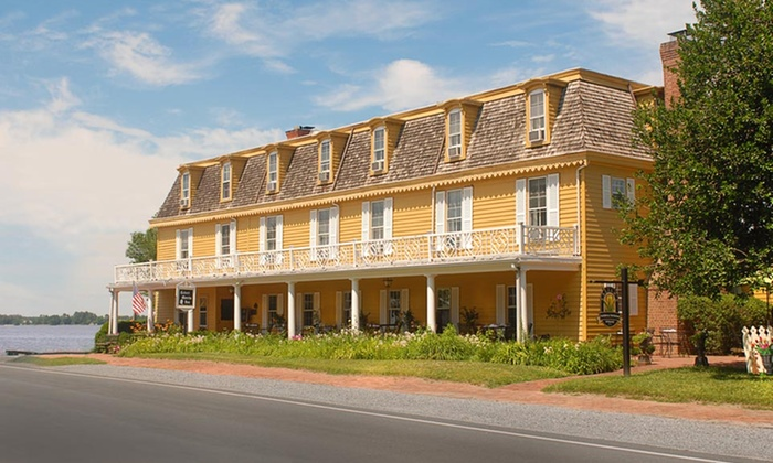 The Robert Morris Inn - Oxford, MD: 1-Night Stay for Two in a Cabin or Captain or Admiral Room with Afternoon Tea at The Robert Morris Inn in Oxford, MD