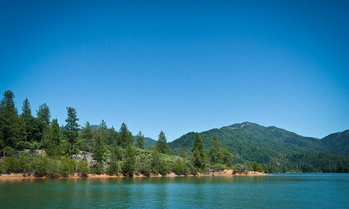 Shasta Recreation Company - Shasta: Three Nights of Camping at Trinity or Shasta Lake with Boat-Launch Pass from Shasta Recreation Company (Up to 60% Off)