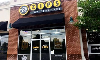 image for Dry Cleaning at ZIPS Dry Cleaners (Up to 40% Off). Two Options Available.
