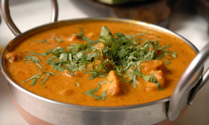 India Kitchen - Manchester: Indian Dinner with Wine or Soda for Two or Four at India Kitchen (Up to 52% Off)