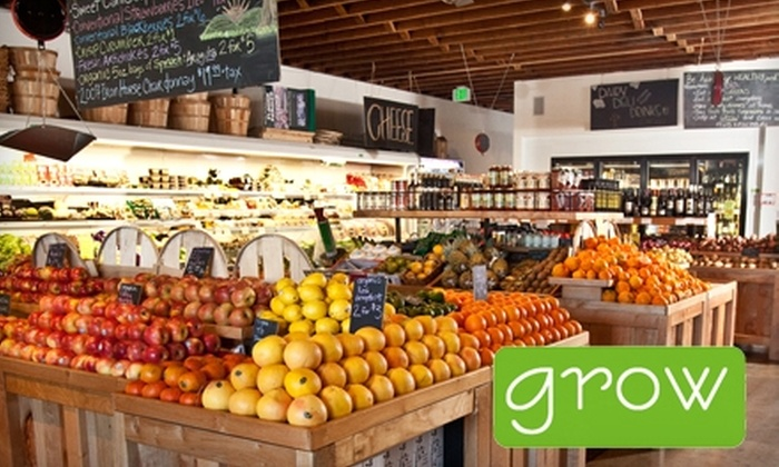 Grow: $15 for $30 Worth of Home-Delivered Groceries from Grow